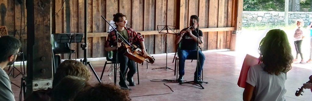 zamfona y flauta