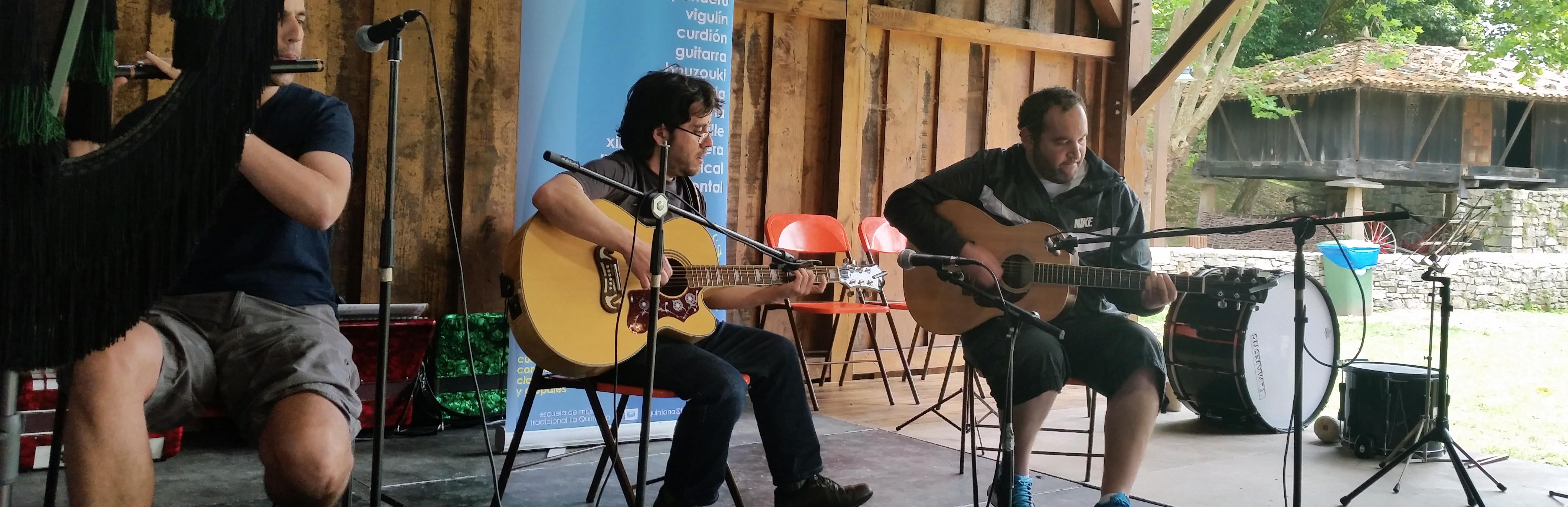 Guitarra y buzuki