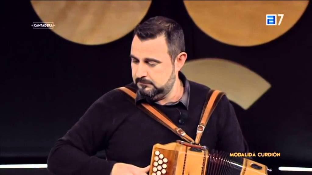 David Varela, profesor de percusión, acordeón diatónico